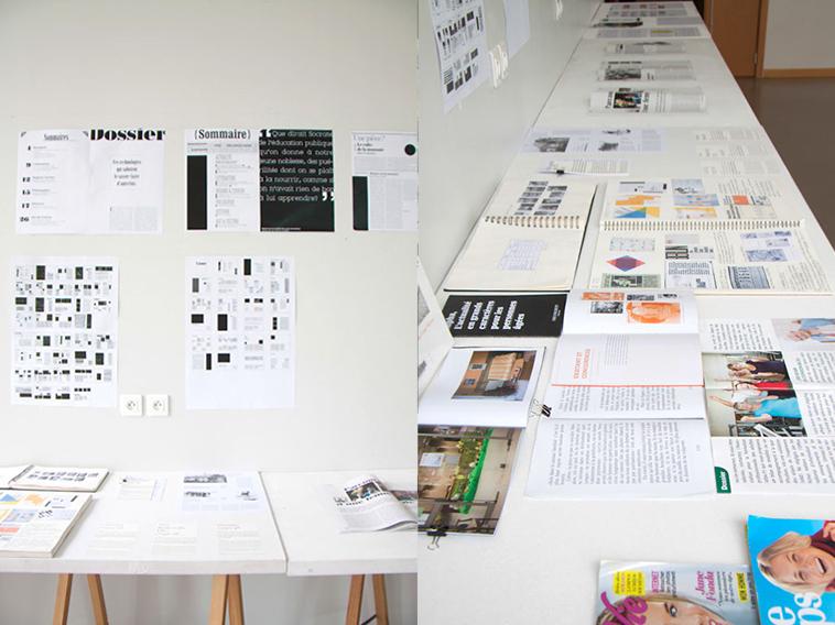 projet d'édition de Clémence Estivals, Alpha (photo © Michèle Gottstein)