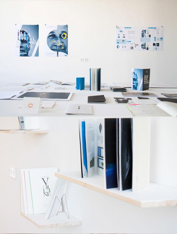 Campagne d'information sur l'illettrisme de Nicolas Cosson, Ma lettre (photo © Michèle Gottstein)