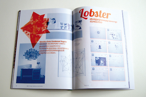 Double page du catalogue (photo © Sarah Fouquet)