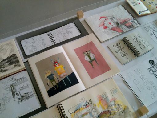 Carnet de dessin, sujet de Sarah Fouquet (photo © Sarah Fouquet)