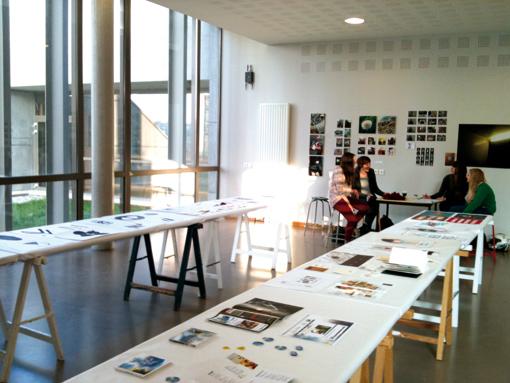 Atelier de 2ème année design graphique (photo © Sarah Fouquet)