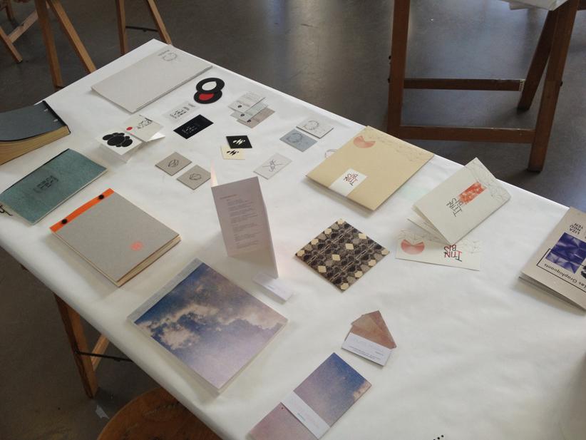 """""""Éditions en tous genres"""", cours de Thierry Weyd, troisième année design graphique."""