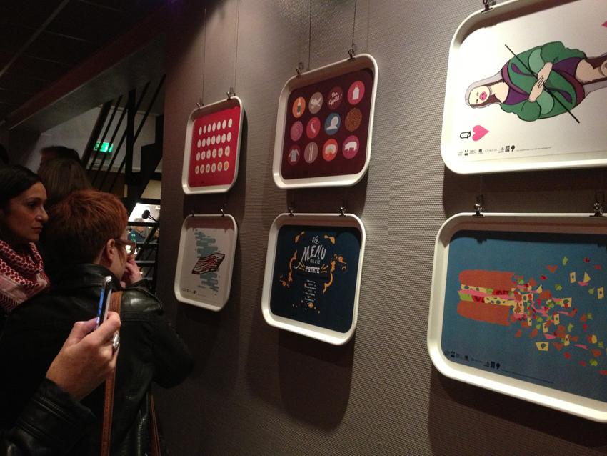 Vue de l'exposition au Lux.