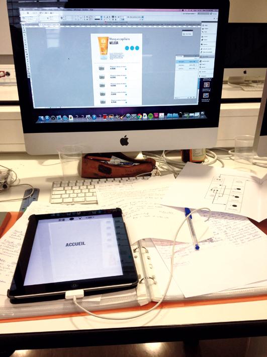 Transfert des données sur iPad.