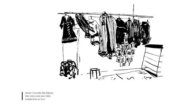 dessin de Laurie Périssé (2ème année design graphique)