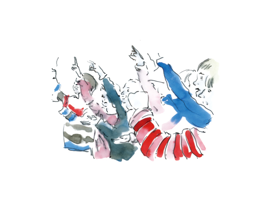 Dessin de Marie-Maëlle Arsène (2ème année design graphique)