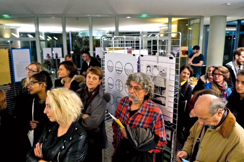 Parmi le public, Raouf Karray au centre et Thierry Sarfis à droite © Jean-Pol Rouard