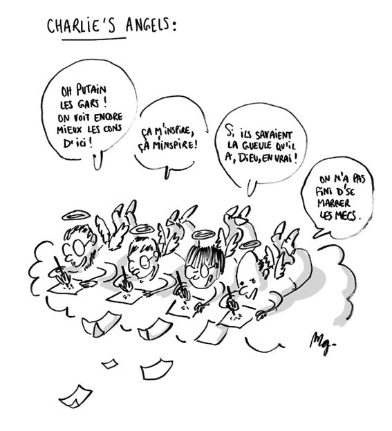dessin extrait du fanzine de l'école Estienne