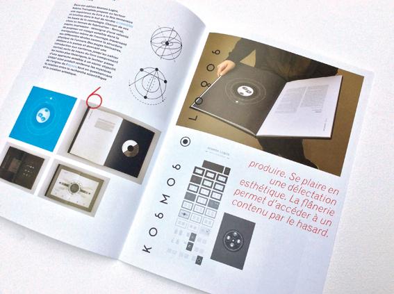 Catalogue réalisé par Thomas Baile, designer graphique © Sarah Fouquet