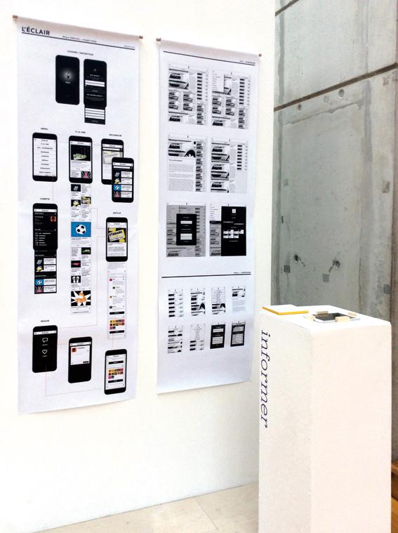 Projet d'édition numérique de Léa Hadjadj © Sarah Fouquet