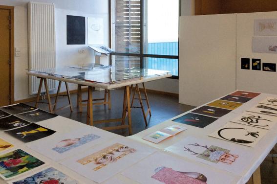 Atelier de 3e année design graphique © Sarah Fouquet