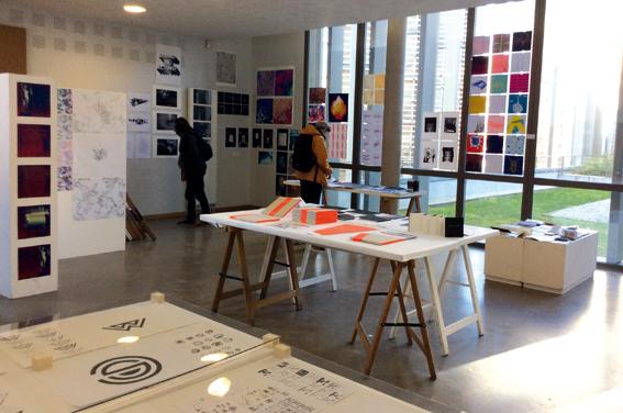 Atelier de 2e année design graphique © Sarah Fouquet