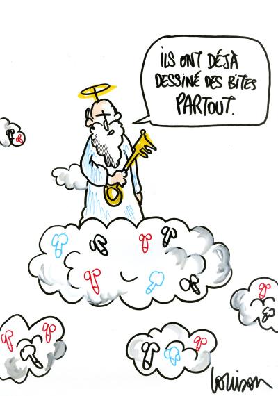 Louison, dessinatrice