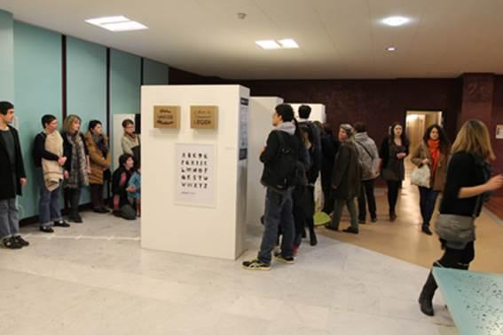 Vue panoramique de l'exposition