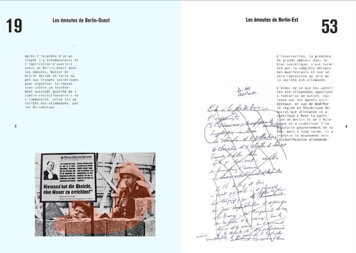 Recherches de mise en page © Anastasia Gladkova et Léa Moulec