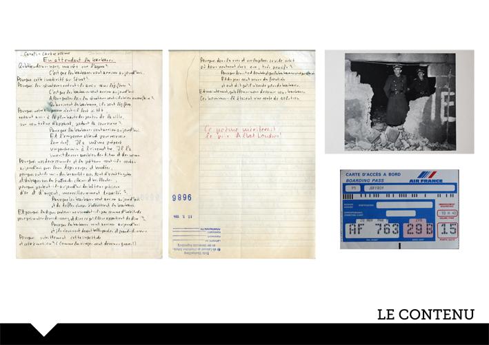 Recherches et traitement des archives de Pierre Joffroy © Laurie Perissé