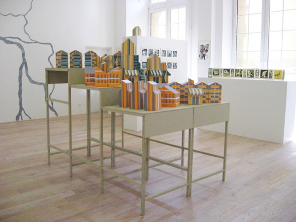 """""""Moyens de pression"""", Galerie les Arches - IUFM de Metz, juin 2011"""