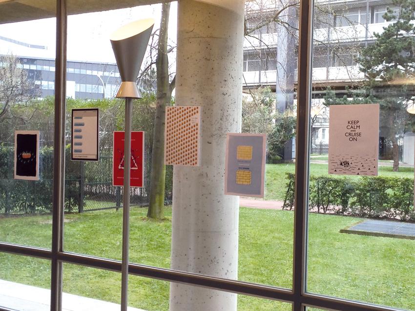 Vue de l'exposition à la maison Henrich Heine, photo © Sarah Fouquet
